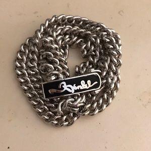 Henri Bendel Wrap-around chain bracelet.